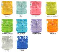10 sets/lot-10 designs cloth diapers+20pcs inserts coolababy cloth diapers/Baby nappies/Baby napkins