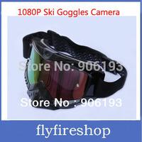 Full HD 1080P 15M Pixel Video Camera Goggles SPORT DVR Sunglasses for Outdoor Sports Skiing Goggles Camera HD