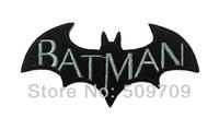 9cm x4.3cm Batman Arkham Origins Embroidery Iron On Cloth Patches, Famous Superhero Patch, DIY Children's Cloth Accessories,