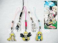 Chobits Anime Chii 5 PCS Phone Straps 10 set /lot (50 pcs) C1028