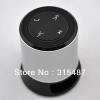Hifi bluetooth a2dp music speaker, wireless free shipping bass amplifier, microphone+LED light+Micro USB for smartphone