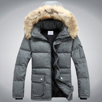 2013 winter men thickening down jackets,duck down military jacket ,plus size winter coat and jacket for men,men's sport jacket