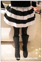 Wholesale--5pcs/lot 2013 new Boutique fashion girls wide strip Ball gown skirt free shipping
