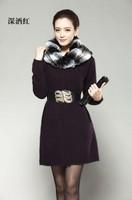 13 marten velvet overcoat slim thickening sweater pure marten velvet overcoat outerwear marten velvet sweater