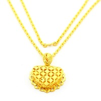 New Arrival Wholesale 24K Neclace,24K Gold Plated Necklace,Fashion Jewelry Bridal Yellow Gold Necklace YHDN110