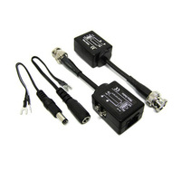Free shipping CCTV Passive Active UTP Video  Balun Transceiver with Effective distance 600M YJS-600M RJ45 interface