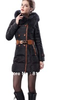 Free Shipping Down Coat Women Winter Long Style Plus Size M L XL XXL XXXL MOQ 1PC