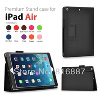 Hot sale ! Case For iPad Air Cover Stand Tablet Leather Cover For Apple iPad 5 ipad air Case Free Ship