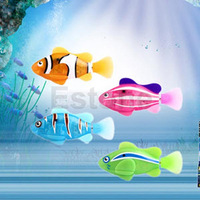 New Robot Water Fish Emulation Electronic Toy Creative Fish For Children Kids
