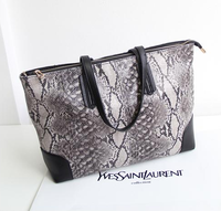 2013 women's handbag shop fashion serpentine pattern shopping bag handbag one shoulder big bags