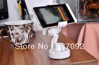 360 Degree Rotaing White Bracket Universal Car Phone Holder for Mobile Phone MP4 MP5 GPS