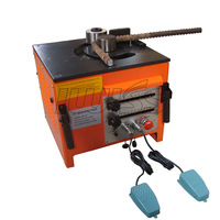 RB-25 Electrical Rebar Bending Machine used for Bending Steel Rope,bending range is 6 to 25mm,bending 110V and 220V Steel Rope.