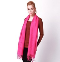 2013 new solid color optional pure wool scarf large size wool scarves long wrap SCARF-148