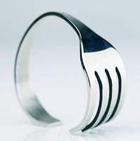 New Arrival  Novelty Item Birthday Christmas Gift Fashion Punk Fork Bracelet Bangle For Men Women