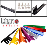 Dyno racing Password JDM Kit V.1 License Plate Relocator Frame bracket For honda