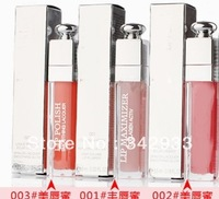 3PCS/LOT Free shipping!2013 New arrival!Hot sell!High quality makeu Lip gloss/lip glass 3 different color