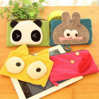 Pipkin beans mobile phone bag cosmetic bag coin purse cartoon wallet multifunctional clutch pencil case female