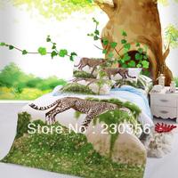 wholesale 3d bedding sets four piece set 100%  new bedclothes pillow home textile bedding cotton 100% cotton duvet cover 4 kit