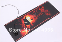 Large Size __88*33CM Branded Game Mat Table Mat Keyboared Mat Loptop Mat With Color Box Package 3MM Thick