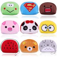 Pipkin beans semi-cirle totoro gift cartoon coin purse key  cute bags birthday gift bag  lovers gift wallet gift