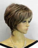 Hot Sell! 2013New Vogue Short Brown Lady's Wig