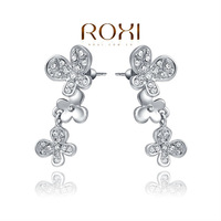 Christmas Delicate Large zircon Earrings,Gift to girlfriend is beautiful,Pure handmade fashionable elegance,2020301420