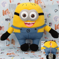 Best Chirstmas gift Despicable Me Copy Voice Pet Recorder Talking Plush Toy - Double Eye