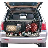 Interior accessories ratchet strap B Luggage Rear Trunk Cargo Net Envelope Organizer Fit Mitsubishi Outlander 06-11