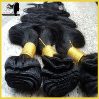 Unprocessed virgin indian body wave,cheap human hair extension,bulk hair,3bundles lot,grade 5a,color #1#2#1b#4,free shipping