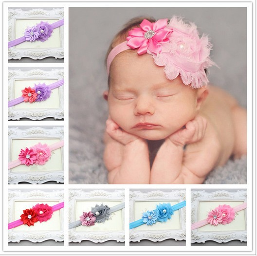 Free Shipping New Style Headband Hairband Baby Girls Flowers Headbands Kids' Hair Accessories Baby Christmas Gift BHHP08025(China (Mainland))