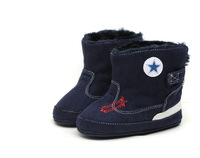 high quality fashion winter boys and girls high shoes brand design baby first walkers boots rubber sole 3 sizes