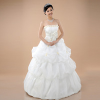Love 2014 new fashion sexy samll flowers wedding princess plus size wedding dresses bridal ball gowns