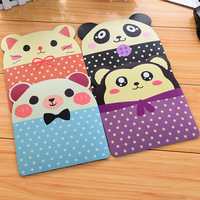 Min. order is $15 (mix order) New arrival cartoon animal dot style personality 2783 pvc mouse pad