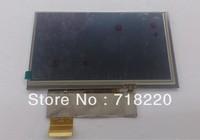 Free shipping 6 inch 40pin LCD KD060G3-40NT-A1 , KD060G3-40NT-A1-REV0 for Newsmy C66 E-book Display screen,HD LCD screen