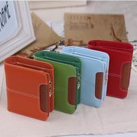 brand woman wallet women      short   zipper   cute  fresh small     wallets purse carteira feminina