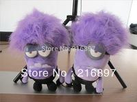 New Purple 30CM 3D Despicable ME 2 Movie Plush Toy Purple Crazy Minions Toys & Hobbies One PCS