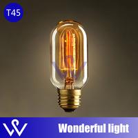 Special lighting Filament Straight Firework Art light bulb vintage retro Edison lamp E27 Halogen Bulbs ,1 PCs FREE SHIPPING