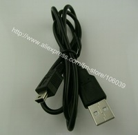 10000pcs/lot  USB 2.0 Type A Male to 5 Pin Mini-B Male  Camera Cable,for Mp3, 80cm black