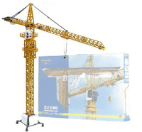 625017 alloy engineering car model tower crane tower crane large heavy crane