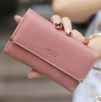 2013 day clutch women's flip medium coin purse vintage the trend of solid color wallet  women wallets purse women wallet