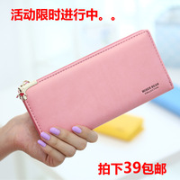 Wallet female long design 2013 bear zipper flip women's day clutch bag  women wallets purse women wallet