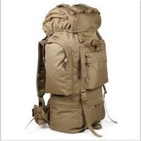 100L liter largest mountaineering backpack shoulder bag military backpack