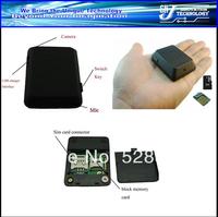 Free shipment 8G Portable Voice Monitor Spy Hidden Video Camera GPS Tracker Phone SIM Card