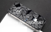 50PCS/Lot 3D Mobile Phone Stickers for Iphone Samsung With Screen Protector Without Retail Package