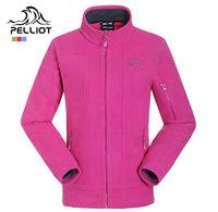 Pelliot fleece outdoor clothing female thickening windproof thermal polar fleece fabric cardigan fleece clothing  Free Shipping
