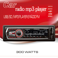 2013 New Detachable panel Car Radio FM MP3 player with USB SD slot Remote control Support AUX audio input 1 DIN