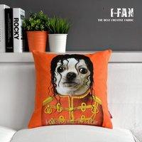 Wholsale, MJ Creative Animal Plush pillow cushion cover Michael Jackson Pillowcases sofa cushions Car Cushion 45cm*45cm