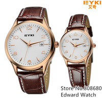 New 2013 Whatch Women Dress Watches Men Luxury Brand Eyki Clock Men Quartz Relojes Couple Watch Relogio Masculino Gift For Lover