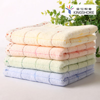 Gold number four loaded plain cotton towels soft, absorbent family float practical Hot