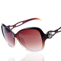 free shipping 2013 new ladies fashion wholesale sunglasses big hollow women glasses 20369 girl gift accessories